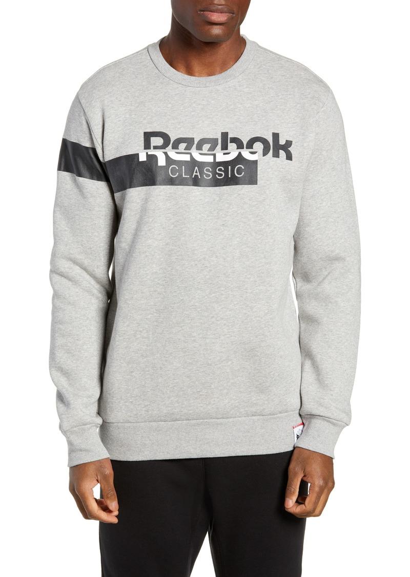 Reebok Reebok Classic Logo Crewneck Sweatshirt  93d3c2d97017b