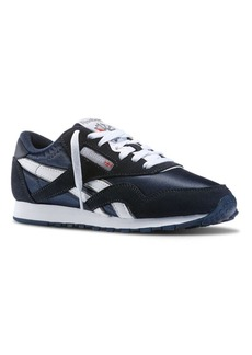 Reebok Classic Nylon and Suede Athletics Sneakers