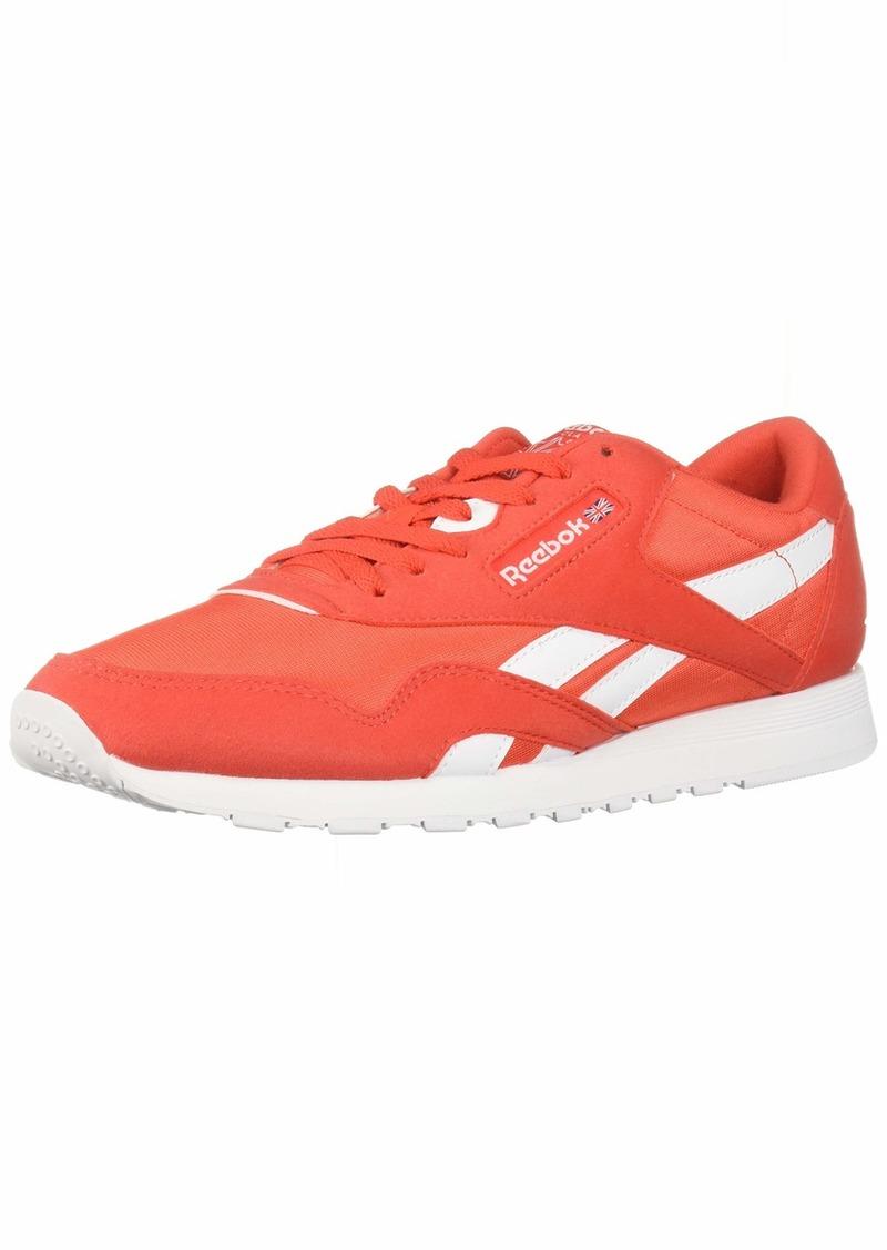 Reebok Classic Nylon Sneaker Canton red/White  M US
