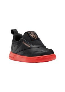 Reebok Club C III Quilted Slip-On Sneaker (Baby, Walker & Toddler)
