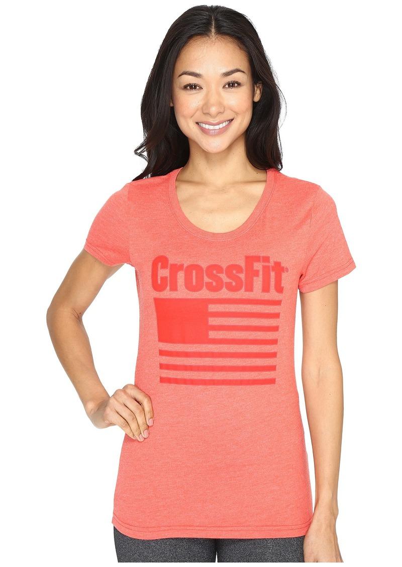 Reebok CrossFit Graphic Flag Tee