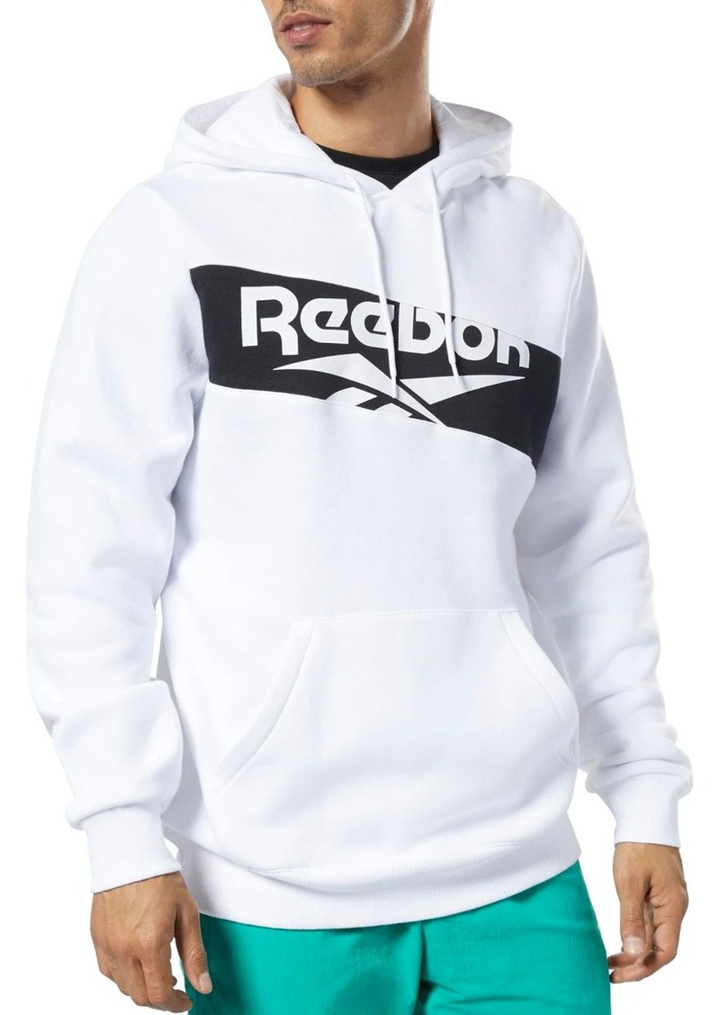 Reebok Diagonal Logo Hooded Sweatshirt