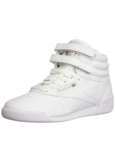 Reebok Freestyle Hi Sneaker White/Silver