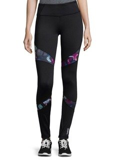Reebok Geometric-Print Leggings