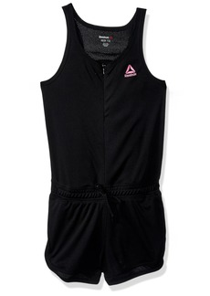 Reebok Girls' Big Romper Black-CXOXOXO 14/16