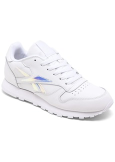 Reebok Big Girls Classic Leather Casual Sneakers from Finish Line