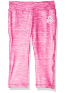 Reebok Girls' Little Yoga Pant Magenta-CXOXPH 6X