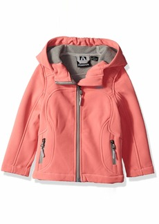 Reebok Girls' Toddler Active Classic Softshell Jacket
