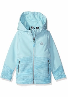 Reebok Girls' Toddler Active Hooded Softshell Jacket