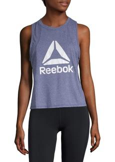 Reebok Graphic Throwback Crop Top