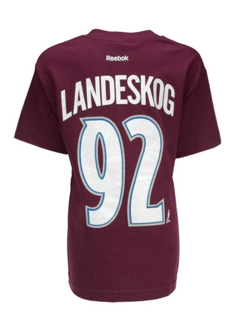 hot sale online d7c54 640d4 Kids' Short-Sleeve Gabriel Landeskog Colorado Avalanche Player T-Shirt