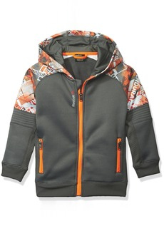 Reebok Little Boys' Active Hooded Zip Up Jacket