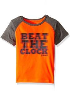 Reebok Little Boys' Active Short Sleeve T-Shirt  6