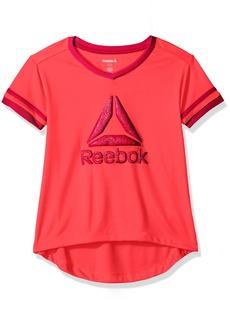 Reebok Little Girls' Athletic T-Shirt Papaya Punch-Cxocc