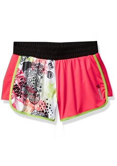 Reebok Girls' Little Color Block Short