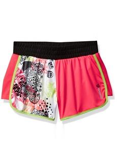Reebok Little Girls' Color Block Short