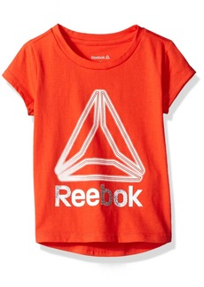 Reebok Little Girls' Delta Glow Tee