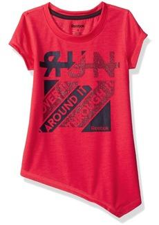 Reebok Toddler Girls' Girly Tee Shirt