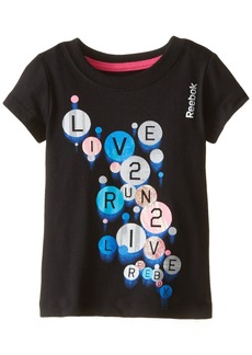 Reebok Toddler Girls' Active Graphic Tee