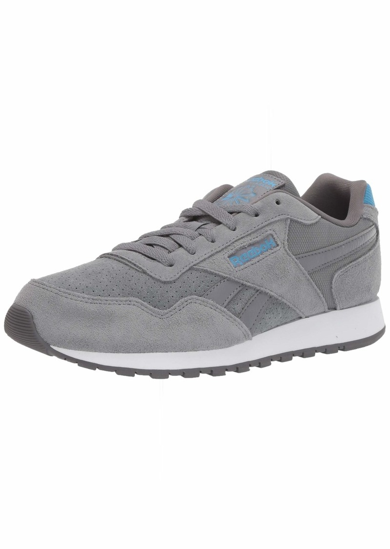 Reebok Men's Classic Harman Run Shoe Cold Grey/Cyan/White  M US