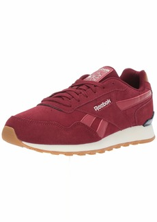 Reebok Men's Classic Harman Run Sneaker Merlot/Meteor red  M US