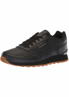 Reebok Men's Classic Harman Run Walking Shoe Us-Black/Ash Grey/Gum