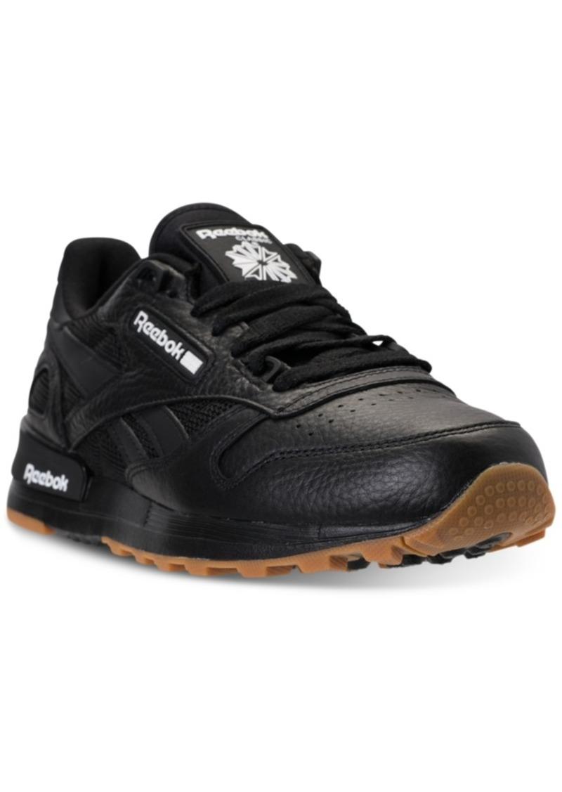 1e372990e0cc Reebok Reebok Men s Classic Leather 2.0 Casual Sneakers from Finish ...