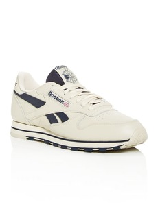 Reebok Men's Classic Leather Low-Top Sneakers