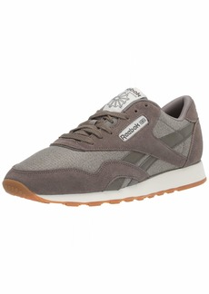 Reebok Men's Classic Leather Nylon M Sneaker   M US