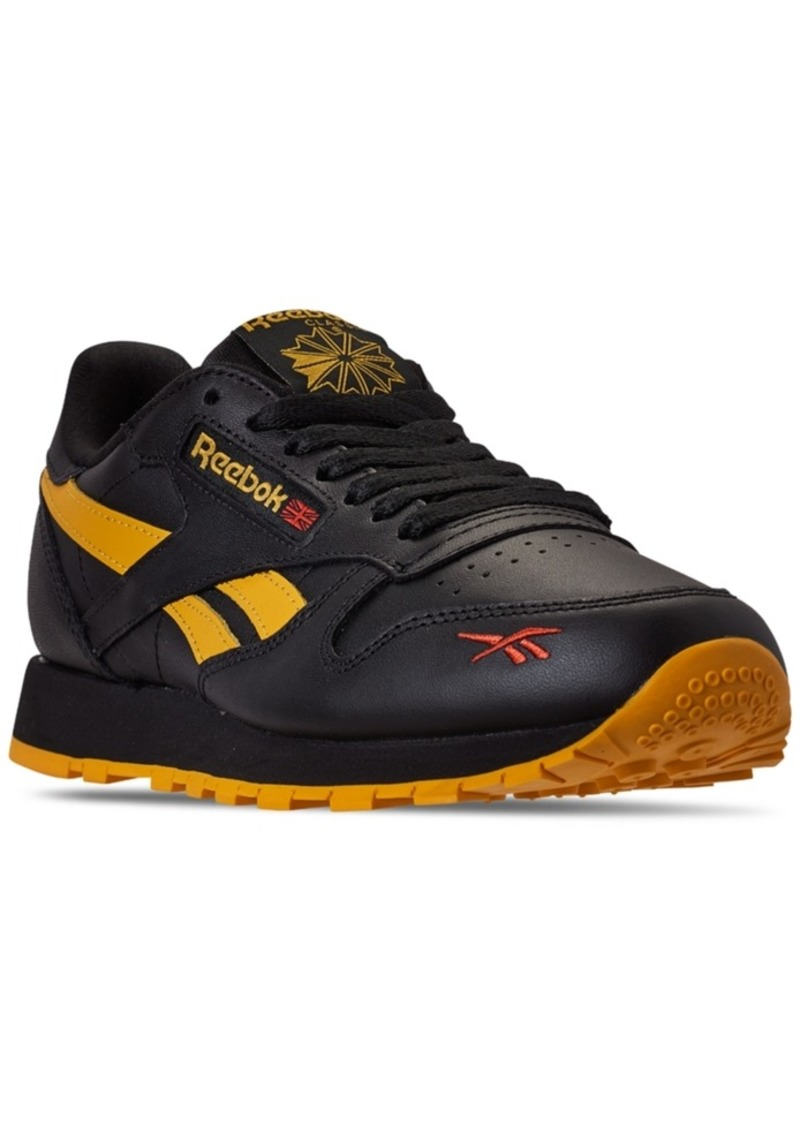Reebok Men's Classic Leather Tech Style Casual Sneakers from Finish Line