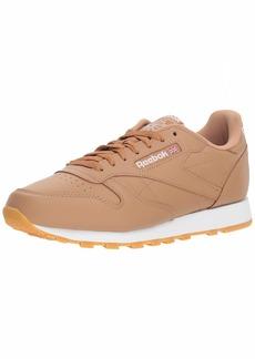 Reebok Men's Classic Leather Walking Shoe fg-Soft Camel/White/Gum  M US