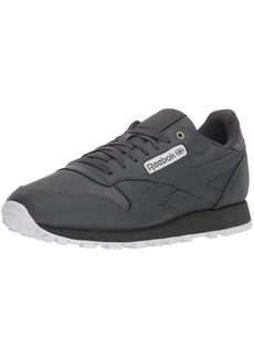 Reebok Men's Classic Leather Walking Shoe mc-Stealth/Banana/White  M US
