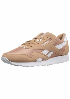 Reebok Men's Classic Nylon Walking Shoe sf-Bare Brown/White  M US