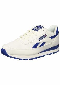 Reebok Men's Classic Renaissance Walking Shoe White/Silver/Collegiate  M US