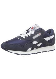 Reebok Men's Classic Sneaker team navy/platinum  M US