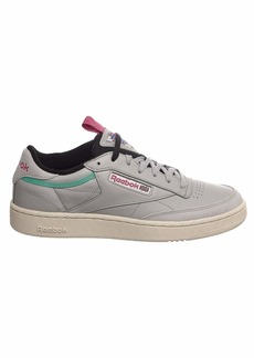 Reebok Men's Club C 85 Sneaker skull grey/brght emerald  M US