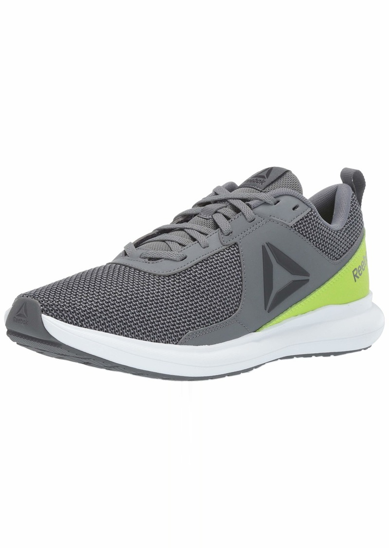 Reebok Men's DRIFTIUM Running Shoe Alloy/neon Lime/White/Pewter/True Grey  M US