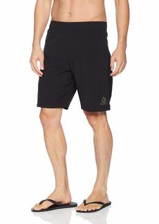 Reebok Men's Elastic Waist Volley Swimsuit Active Gym Short