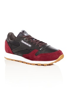 Reebok Men's Leather & Suede Lace Up Sneakers