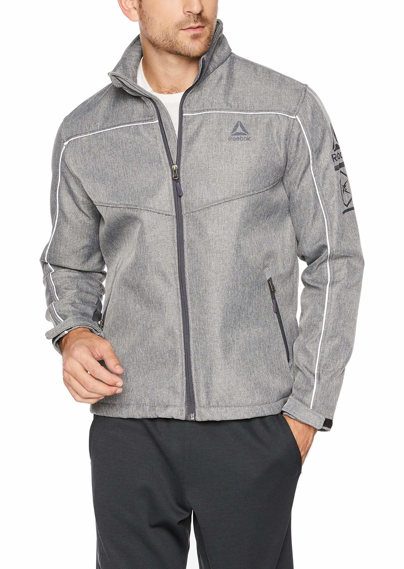 Reebok Men's Mid Weight Soft Shell Jacket  L