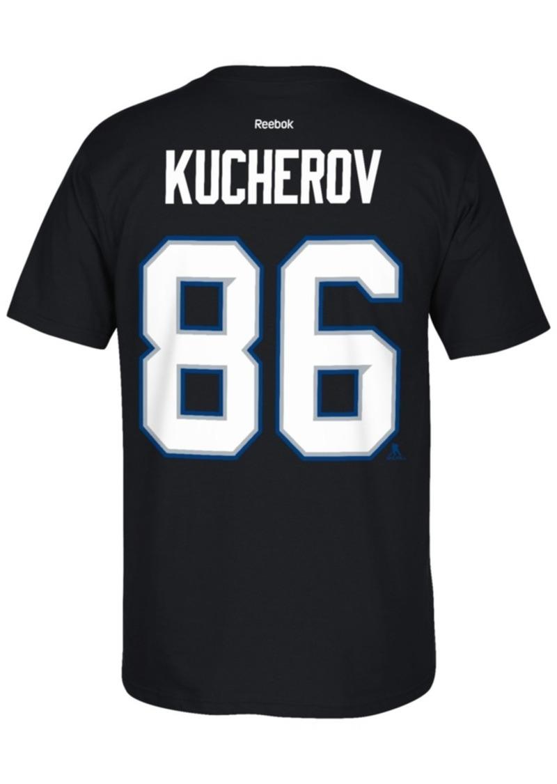 Reebok reebok men 39 s nikita kucherov tampa bay lightning for Tampa t shirt printing