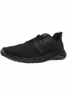 Reebok Men's Print Run 3.0 Shoe Black/ash Grey