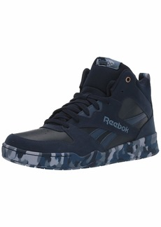 Reebok Men's Royal BB4500 HI2 Basketball Shoe Navy/Washed/Blue/camo  M US