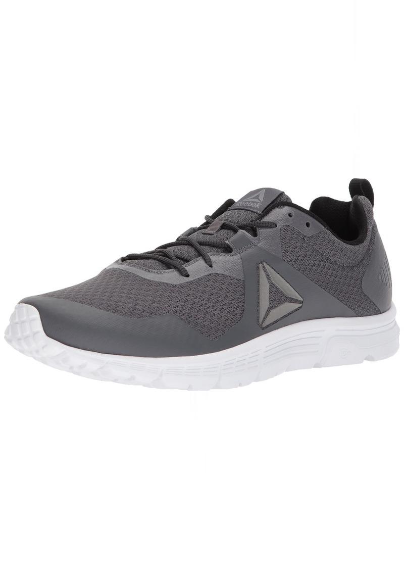 Reebok Men's Run Supreme 4.0 Sneaker ash Flint Grey/Solar Green/White/Pewter  M US