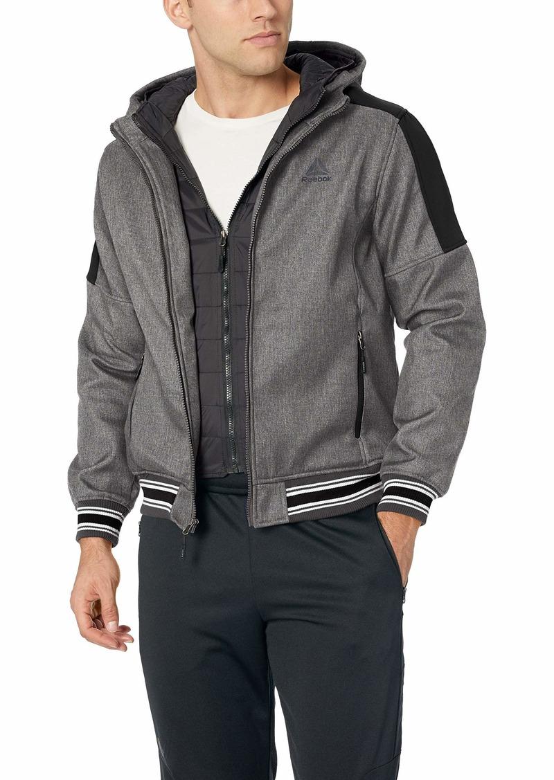 Reebok Men's Softshell Active Jacket  2XL