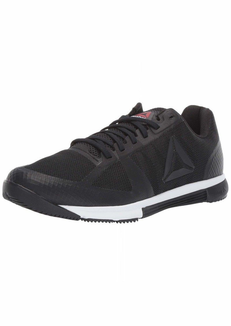 Reebok Men's Speed TR 2.0 Sneaker Black/White/Primal red  M US