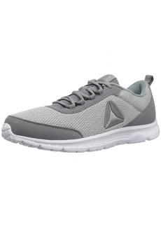 Reebok Men's Speedlux 3.0 Sneaker Stark Flint Skull Grey/White/Pewter  M US