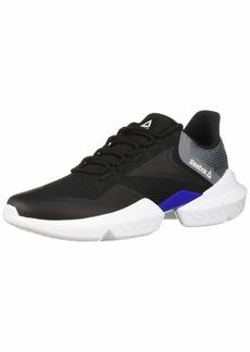 Reebok Men's SPLIT FUEL Shoe Black/Cobalt/grey  M US