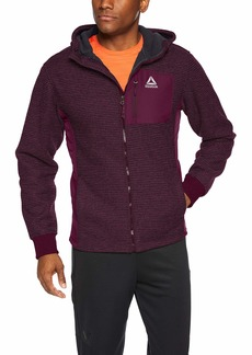 Reebok Men's Standard Boat Rib Active Fleece Jacket  M