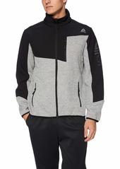 Reebok Men's Standard Fleece Active Jacket  L
